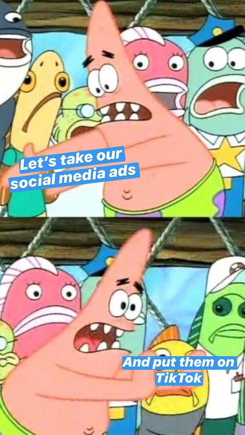Spongebob TikTok Meme: What not to do