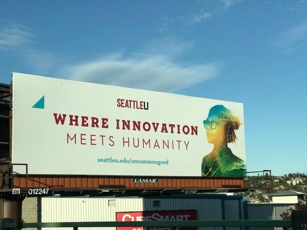 Fundraising Campaign Billboard SU