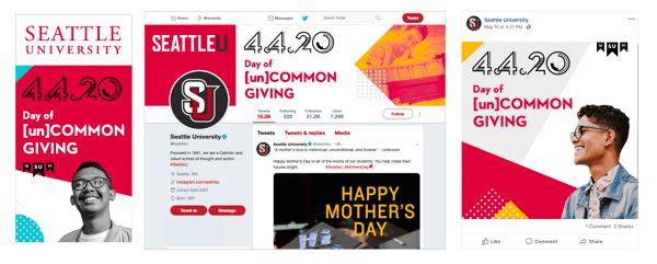 Fundraising Campaign Digital Concepts SU