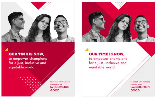 Fundraising Campaign Print Ad SU
