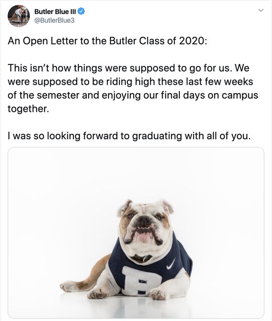 Butler Blue III Twitter Thread